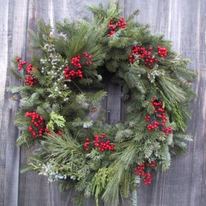 calico wreath