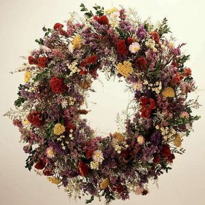 country garden wreath