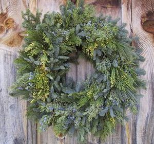 oregon greens wreath